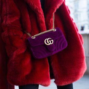Gucci Marmont Fuschia Mini Bag